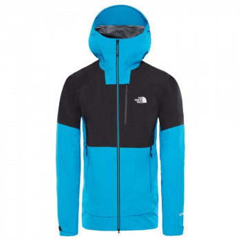 The North Face M Impendor Pro Jacket, Farbe: acoustic blue/tnf black