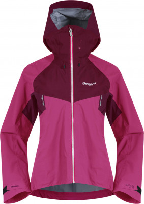 Bergans Slingsby 3L W Jacket, Farbe: raspberry/beetred/silvergrey