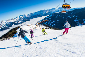 Saalbach Hinterglemm Leogang Fieberbrunn scores with state-of-the-art lifts and slopes for beginners and expert skiers alike.
