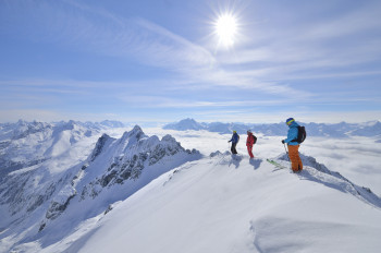 Ski Arlberg offers a lot of terrain for back-country skiing.