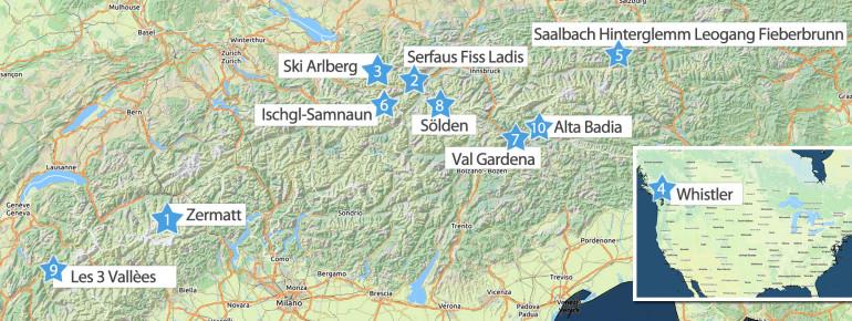 Our ranking has a new frontrunner in 2019: Zermatt!