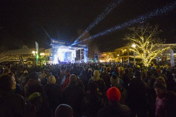 One of several event highlights in Aspen is the Bud Light HiFi Concert Series.