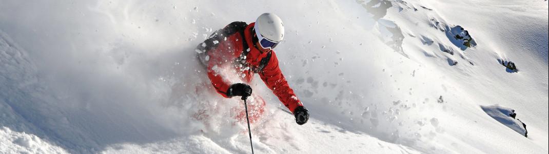 Entdecke die Highlights im Skigebiet Hochfügen.