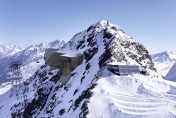 Direkt am Klein Matterhorn wird die Glacier Ride II Richtung Testa Grigia in Italien starten.