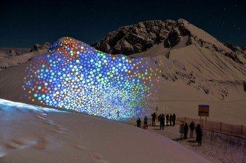 Bei Fantastic Gondolas werden die Berge zu Kunstwerken