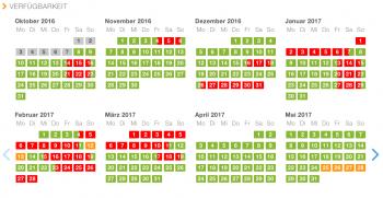 Der Skigebiete-Test.de Belegungskalender wird bereits von zahlreichen Unterkünften verwendet