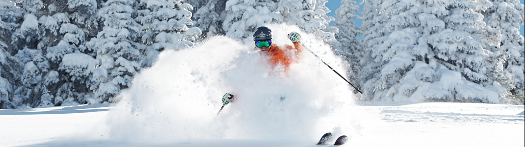 Enjoy the legendary champagne powder in Vail.