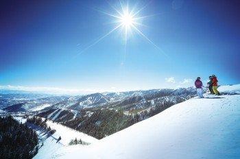 Park City - das größte Skigebiet in den USA.