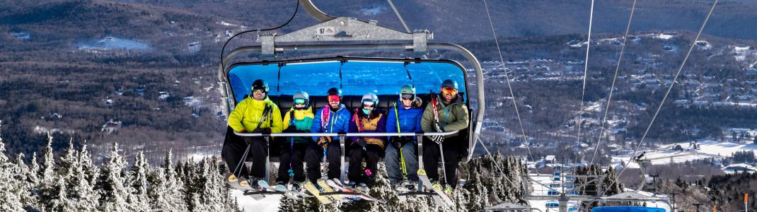 Auch das Skigebiet Mount Snow in Vermont gehört jetzt zu den Vail Resorts.