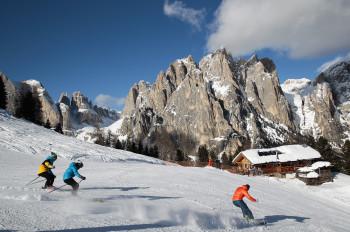 Im Val di Fassa trifft exklusives Skivergnügen auf italienisches Dolce Vita.