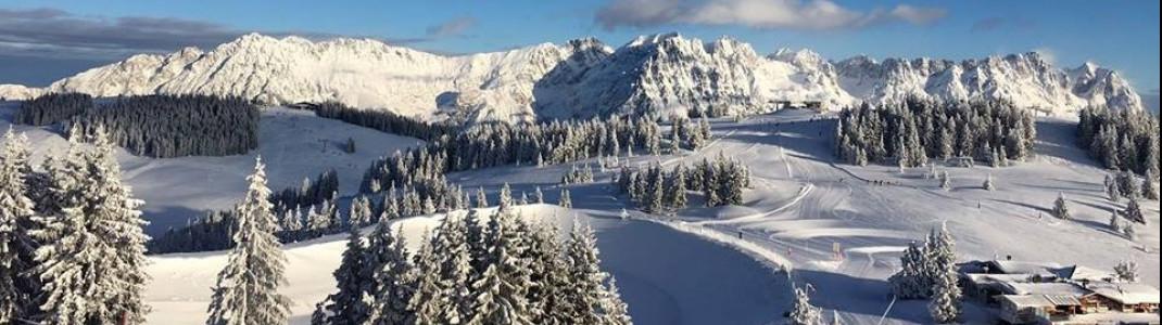 Kaiserwetter gibt es am Silvestertag auch in der SkiWelt Wilder Kaiser.