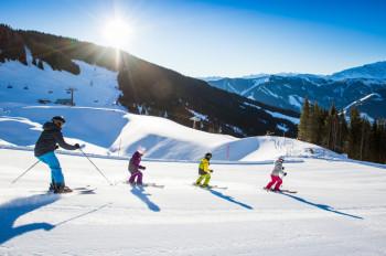 140 blau markierte Pistenkilometer garantieren Anfängern grenzenlosen Skispaß