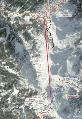 Die neue Panorama Link verbindet die Bergstationen an Grießenkareck und Shuttleberg.