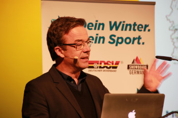 Univ.-Prof. Dr. Ralf Roth von der Deutschen Sporthochschule Köln befasst sich mit den Entwicklungen im Wintersportbereich.
