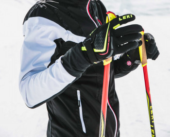 Carbon cross-country ski poles are functionally the best and therefore also the most expensive.
