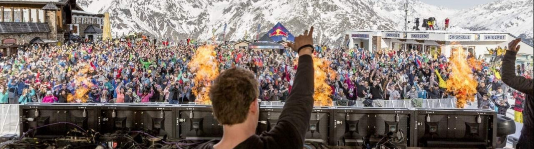 Sölden's Electric Mountain Festival means party all night long.