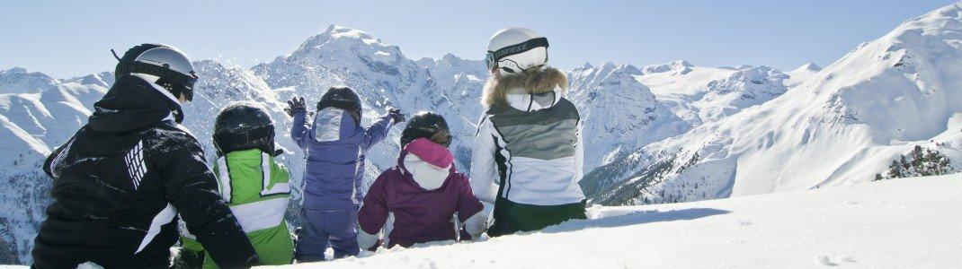 Langweilig wird es für Familien im Winterurlaub in Südtirol nicht.