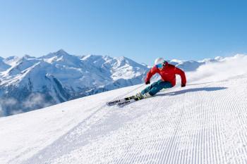 Vier Skigebiete bieten abwechslungsreiches Skivergnügen.