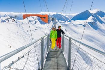 Traust du dich über Europas höchstgelegene Hängebrücke?