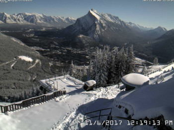 Mt. Norquay and its snow-covered slopes welcomed its first guests of the season on November 4th.