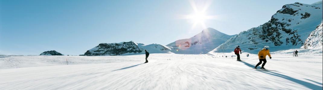 Mit der WinterCARD winken dir fünf Monate Skivergnügen zum unschlagbaren Preis.
