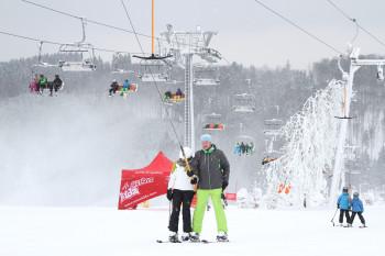 Auch in Neuastenberg herrschen dank Neuschnee wieder gute Bedingungen.