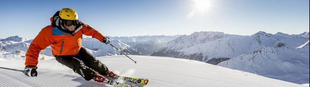 Die Internationale Ski-Arena Ischgl Samnaun gehört zu den besten Skigebieten weltweit!