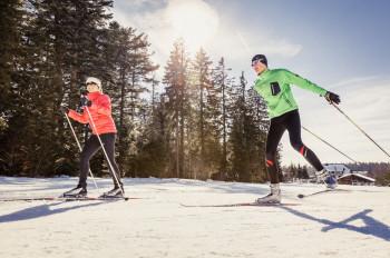 Il salone dello sci di fondo è attualmente rivolto principalmente agli ospiti locali.