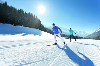 2.200 Loipenkilometer machen das SalzburgerLand zu einem Paradies für Langläufer.