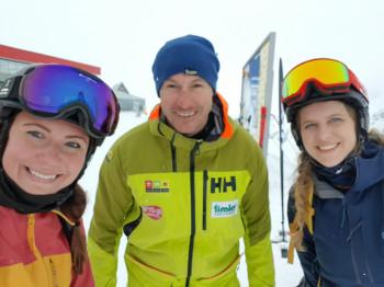 We tested the new models alongside ski pros like Manfred Pranger.