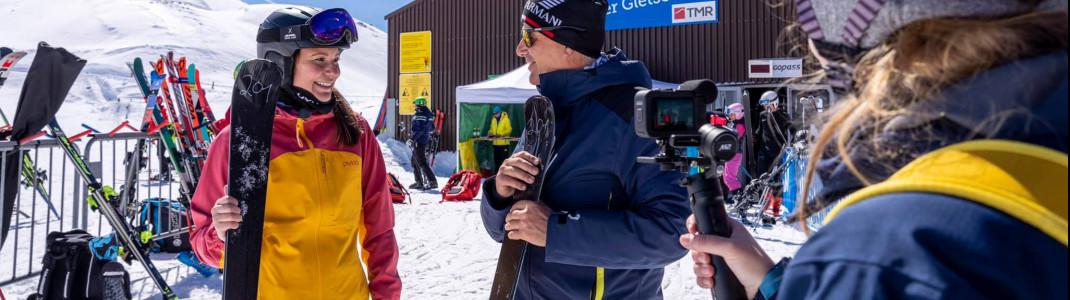 Im Interview mit dem WorldSkitest-Organisator Gerhard Brüggler.