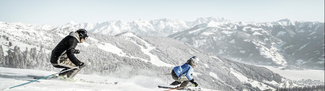 Mit der Alpin Card kannst du mehr als 400 Pistenkilometer nutzen.