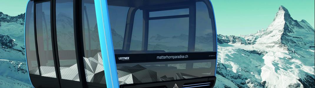 28 Personen passen in eine der neuen Kabinen des Glacier Rides.