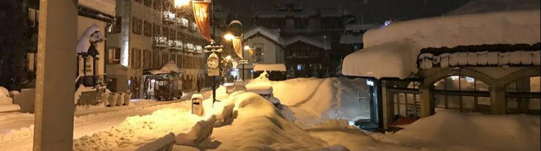 180 Zentimeter Schnee liegen im bekannten Skiort.
