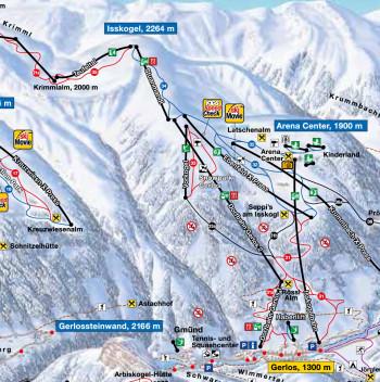 Da die neue Stuanmandl-Bahn direkt an die Dorfbahnen 1+2 anschließt, wird sie auch Dorfbahn 3 genannt.