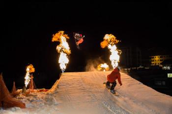 Ski-Show Samnaun