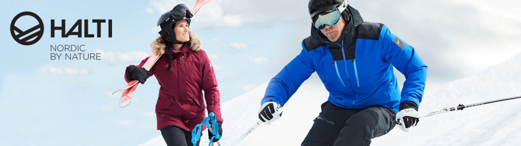 Gewinne eine Skijacke von Halti!