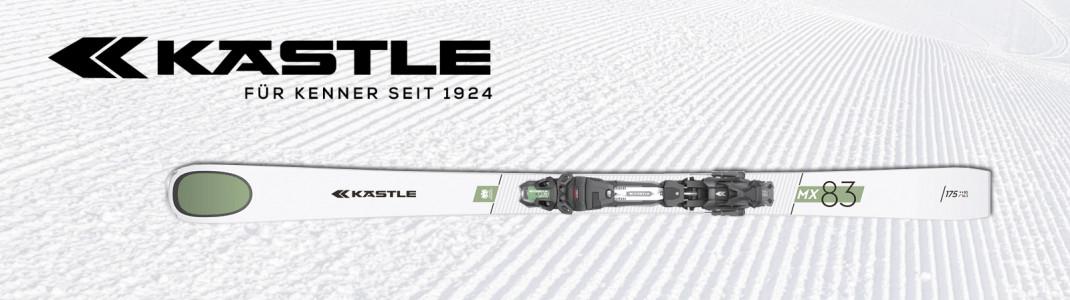 Der neue Kästle MX83 lässt Skifahrerherzen höher schlagen.