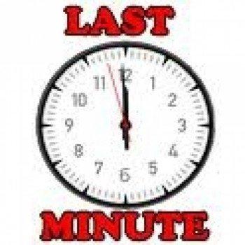Last Minute - Die Preise burrrrrrrzeln