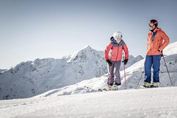 Glacier skiing in Sölden