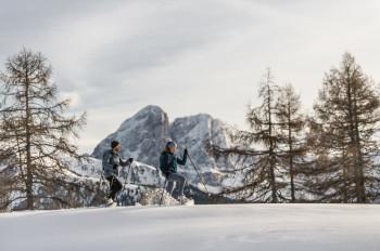 Schneeschuhwandern im Pfösl
