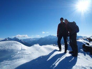 Schneeschuhwandern in den Rieserferner- und Zillertaler Alpen
