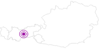 Unterkunft Ferienwohnung Eller in Stubai: Position auf der Karte
