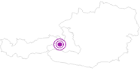 Unterkunft Der Waldhof in Zell am See - Kaprun: Position auf der Karte