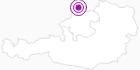 Unterkunft Villa Kunterbunt in Donau Oberösterreich: Position auf der Karte