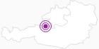 Unterkunft Pension Grüsser im Salzkammergut: Position auf der Karte