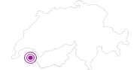 Unterkunft Hotel Le Carlina in Portes du Soleil - Chablais: Position auf der Karte
