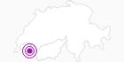 Unterkunft Gasthof La Clef des Champs in Portes du Soleil - Chablais: Position auf der Karte