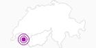 Unterkunft Gasthaus Le Petit Cheval Blanc in Portes du Soleil - Chablais: Position auf der Karte
