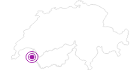 Unterkunft Les Chevreuils in Portes du Soleil - Chablais: Position auf der Karte